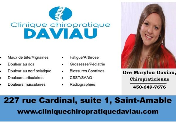 Clinique Chiropratique Daviau